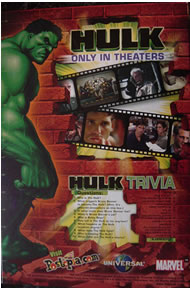 Hulk cereal - rear