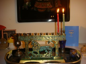 First night of Chanukah