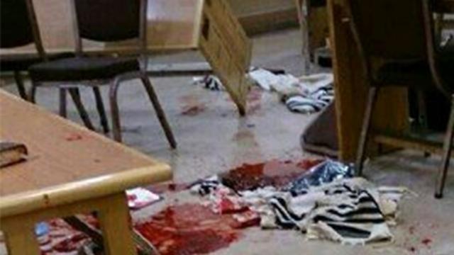 site of terror attack