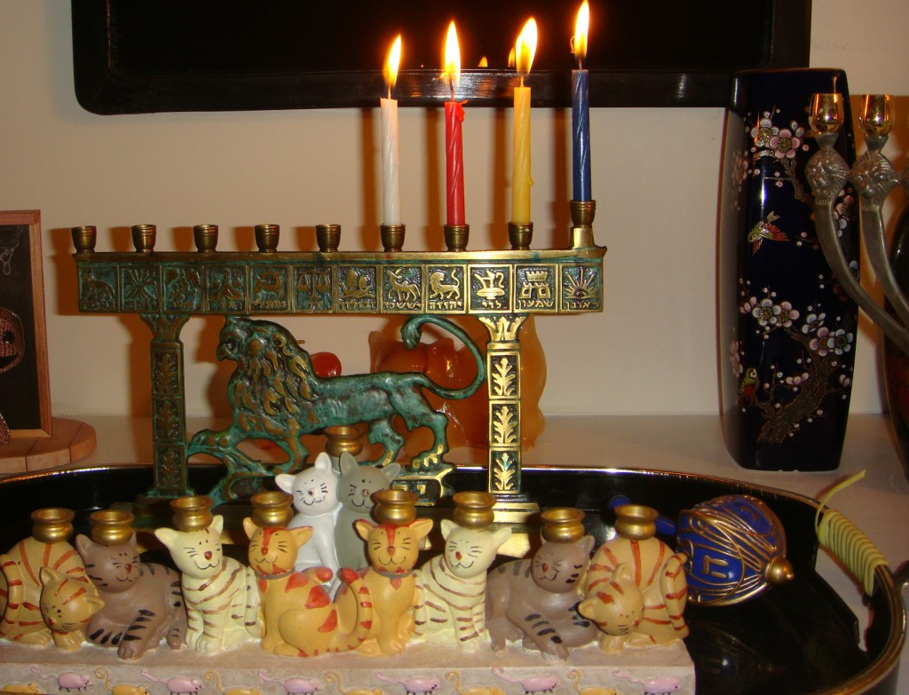 Third light of Hanukkah